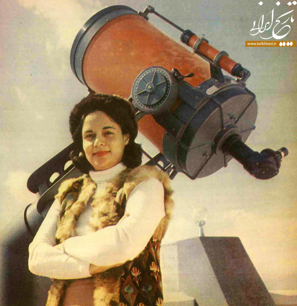 شهلا صلحجو ,اولین زن ستارهشناس ایران