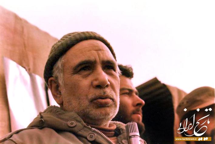 فخرالدین حجازی در جبهه