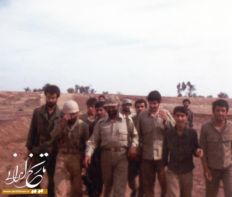 عکسهای منتشرنشده از صادق خرازی در جبهه