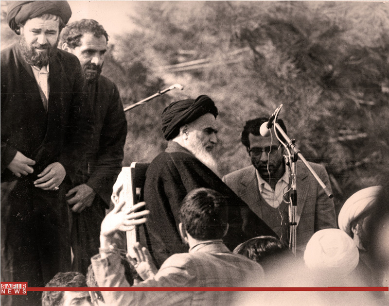 عکسهای منتشر نشده از سخنرانی امام در بهشت زهرا