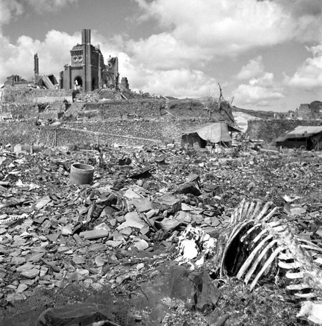 هیروشیما و ناگازاکی پس از بمباران اتمی