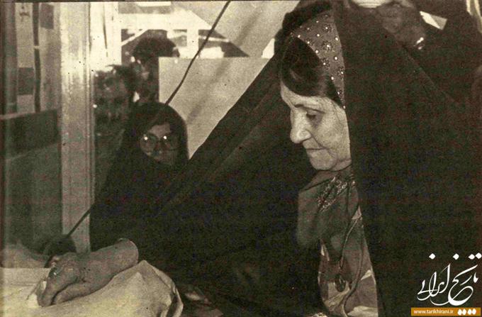 مشارکت زنان در رفراندوم جمهوری اسلامی
