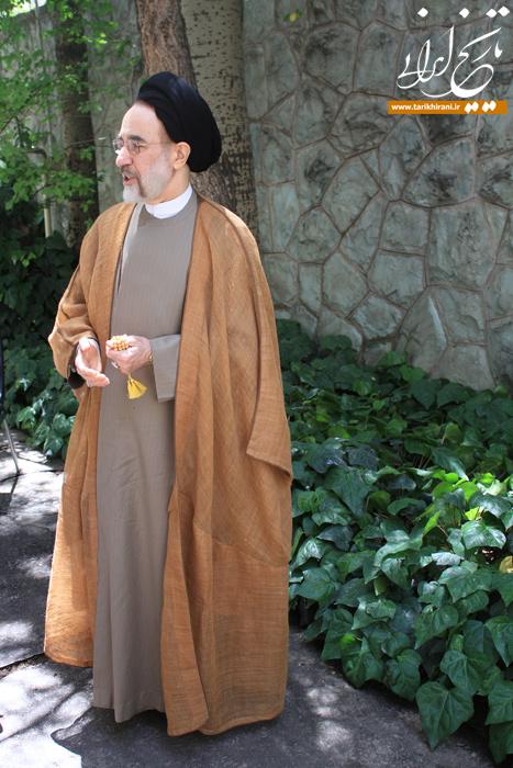 گفتوگوی اختصاصی تاریخ ایرانی با سید محمد خاتمی: حکم سرپرستی کیهان را از رادیو شنیدم