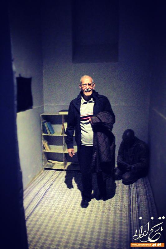 گشت و گذاری در زندان قصر با محمدعلی عمویی
